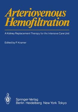 Abbildung von Kramer | Arteriovenous Hemofiltration | 1985 | 1985 | A Kidney Replacement Therapy f...