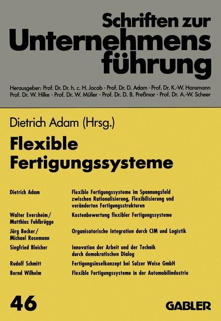Abbildung von Adam | Flexible Fertigungssysteme | 1993 | 1993