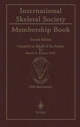 Abbildung von Kricun | International Skeletal Society Membership Book | 2011