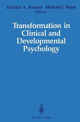 Abbildung von Kramer / Bopp | Transformation in Clinical and Developmental Psychology | 2011