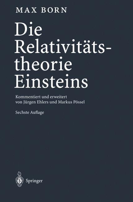 Die Relativitätstheorie Einsteins | Born, 2000 | Buch (Cover)