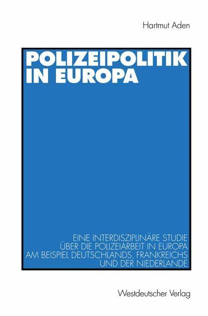 Abbildung von Aden   Polizeipolitik in Europa   1998
