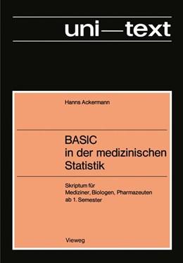 Abbildung von Ackermann   BASIC in der medizinischen Statistik   1977   Skriptum für Mediziner, Biolog...