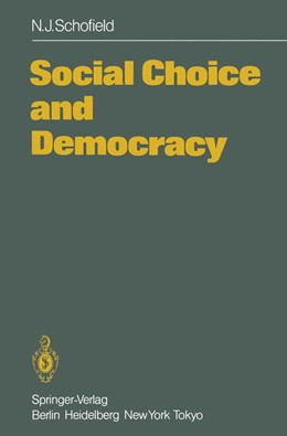 Abbildung von Schofield | Social Choice and Democracy | 2011