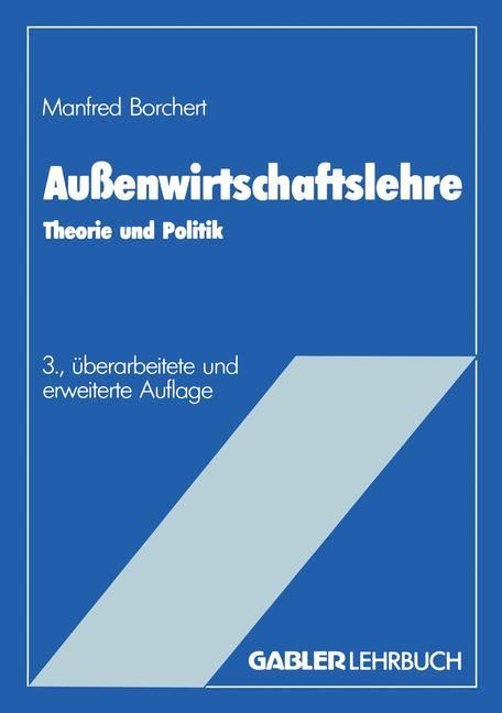 Außenwirtschaftslehre | Borchert | Softcover reprint of the original 3rd ed. 1987, 1987 | Buch (Cover)
