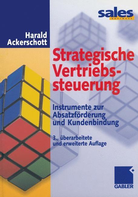 Strategische Vertriebssteuerung | Ackerschott, 2012 | Buch (Cover)