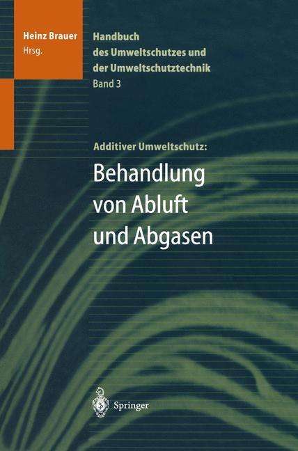 Handbuch des Umweltschutzes und der Umweltschutztechnik | Brauer, 2011 | Buch (Cover)