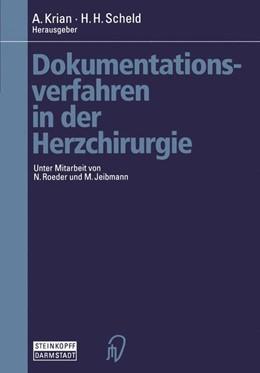 Abbildung von Krian / Scheld | Dokumentationsverfahren in der Herzchirurgie | 2012