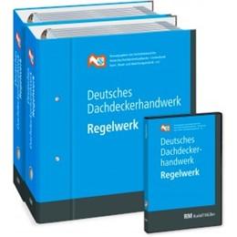 Abbildung von Zentralverband des Deutschen Dachdeckerhandwerks e.V. | Deutsches Dachdeckerhandwerk Regelwerk • Kombipaket | Loseblattwerk mit Aktualisierungen | 2019 | Loseblatt + DVD