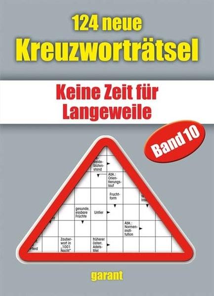 Abbildung von 124 neue Kreuzworträtsel 10   2012
