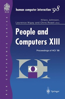 Abbildung von Johnson / Nigay / Roast   People and Computers XIII   1st Edition.   1998   Proceedings of HCI '98