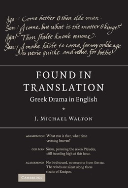Abbildung von Walton | Found in Translation | 2006 | Greek Drama in English