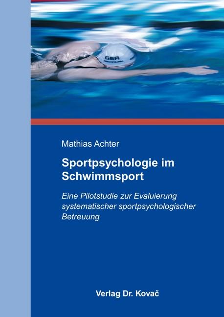 Sportpsychologie im Schwimmsport | Achter, 2012 | Buch (Cover)