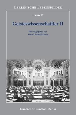 Abbildung von Kraus | Geisteswissenschaftler II | 2012 | 10
