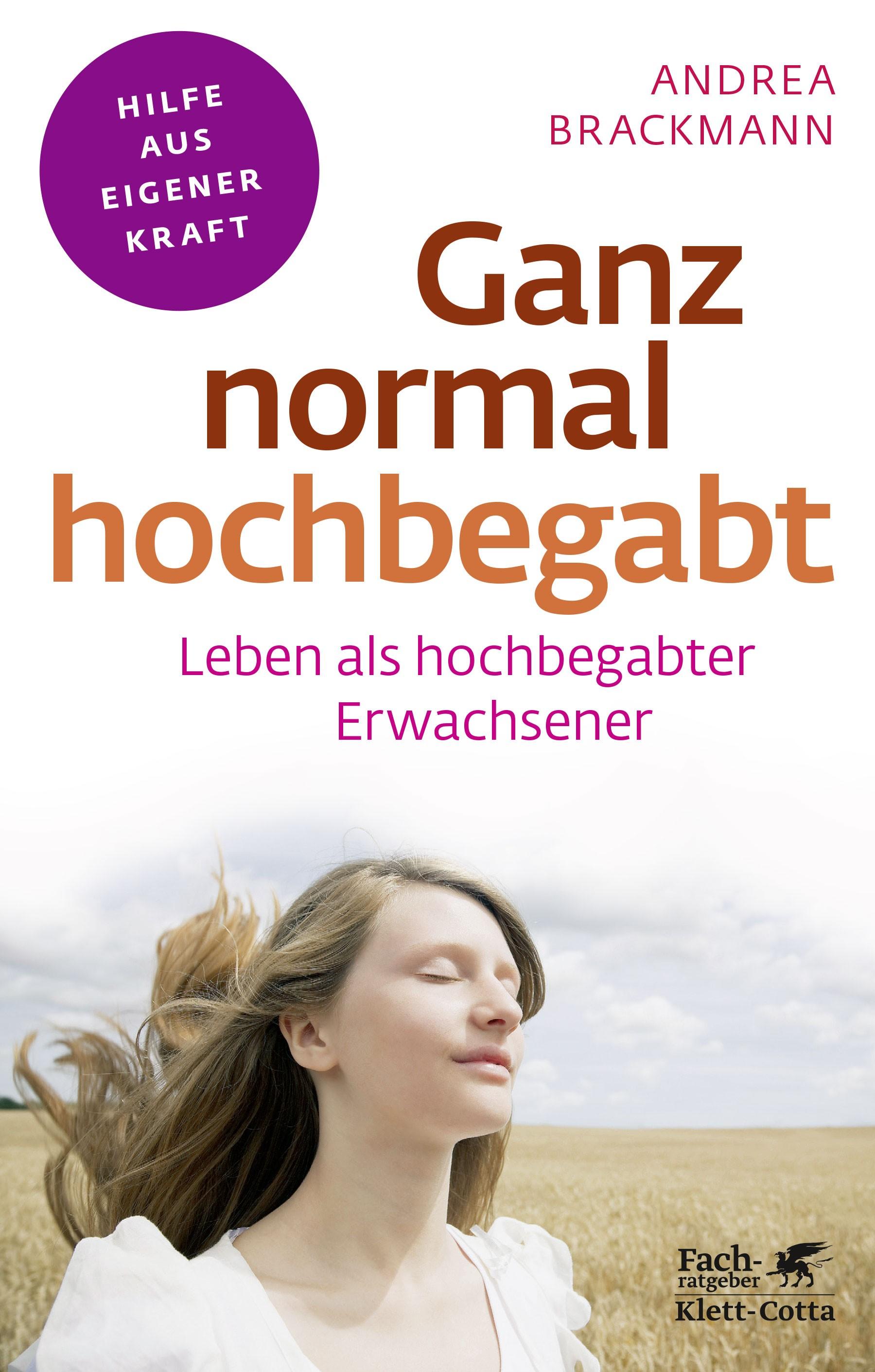 Ganz normal hochbegabt | Brackmann, 2018 | Buch (Cover)