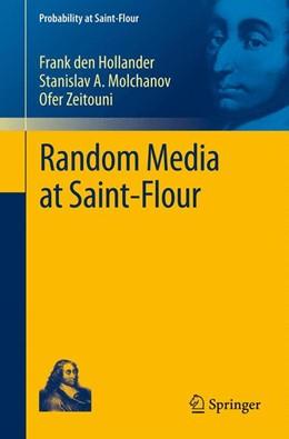 Abbildung von den Hollander / Molchanov / Zeitouni | Random Media at Saint-Flour | 2012
