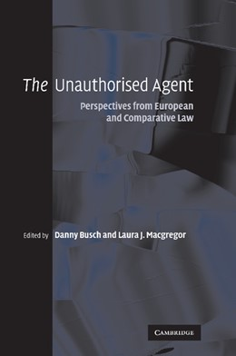Abbildung von Busch / Macgregor | The Unauthorised Agent | 2012 | Perspectives from European and...