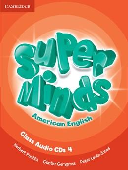 Abbildung von Puchta / Gerngross / Lewis-Jones | Super Minds American English Level 4 Class Audio CDs (4) | 2012