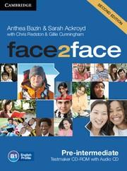 Abbildung von Bazin / Ackroyd | face2face Pre-intermediate Testmaker CD-ROM and Audio CD | 2012