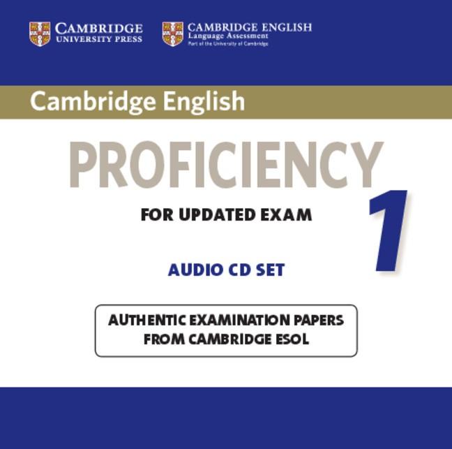 Abbildung von Cambridge English Proficiency 1 for Updated Exam Audio CDs (2) | 2012