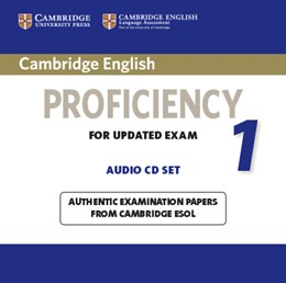 Abbildung von Cambridge English Proficiency 1 for Updated Exam Audio CDs (2) | 2012 | Authentic Examination Papers f...