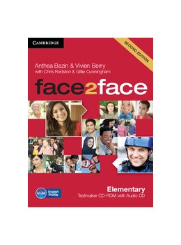 Abbildung von Bazin / Berry | face2face Elementary Testmaker CD-ROM and Audio CD | 2012