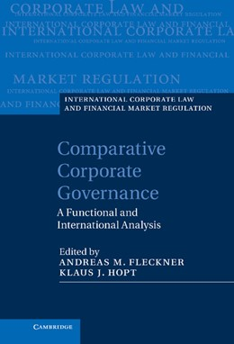 Abbildung von Fleckner / Hopt | Comparative Corporate Governance | 2013 | A Functional and International...