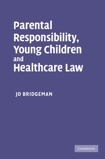 Abbildung von Bridgeman | Parental Responsibility, Young Children and Healthcare Law | 2012