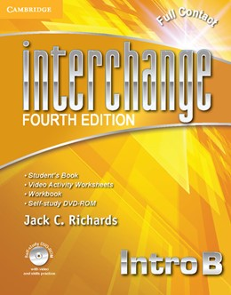 Abbildung von Richards | Interchange Intro Full Contact B with Self-study DVD-ROM | 2012