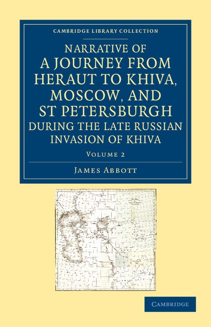 Abbildung von Abbott | Narrative of a Journey from Heraut to Khiva, Moscow, and St Petersburgh during the Late Russian Invasion of Khiva | 2012