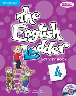 Abbildung von House / Scott | The English Ladder Level 4 Activity Book with Songs Audio CD | 2012