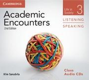 Abbildung von Sanabria | Academic Encounters Class Audio CDs (3) Listening and Speaking | 2012