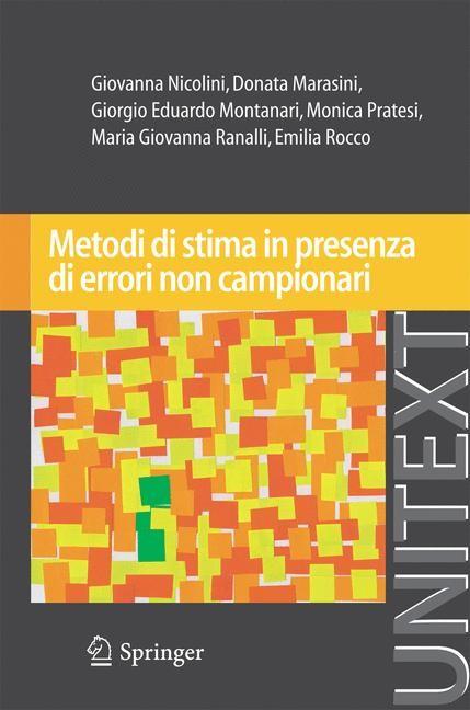 Abbildung von Nicolini / Marasini / Montanari | Metodi di stima in presenza di errori non campionari | 2012