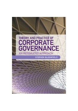 Abbildung von Bloomfield | Theory and Practice of Corporate Governance | 2013 | An Integrated Approach