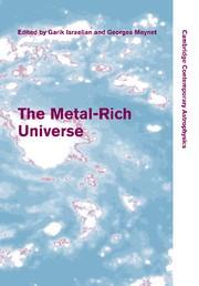 Abbildung von Israelian / Meynet | The Metal-Rich Universe | 2012
