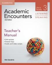 Abbildung von Sanabria | Academic Encounters Level 3 Teacher's Manual Listening and Speaking | 2012