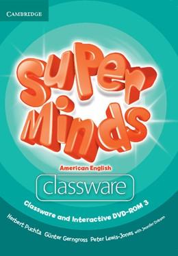 Abbildung von Puchta / Gerngross / Lewis-Jones   Super Minds American English Level 3 Classware and Interactive DVD-ROM   2013