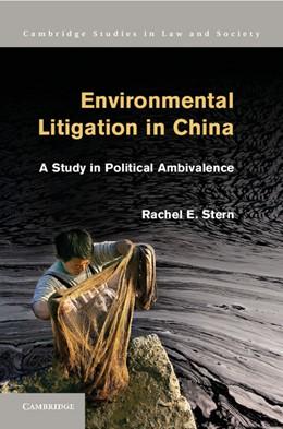 Abbildung von Stern | Environmental Litigation in China | 2013 | A Study in Political Ambivalen...