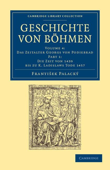 Abbildung von Palacký | Geschichte von Böhmen | 2012