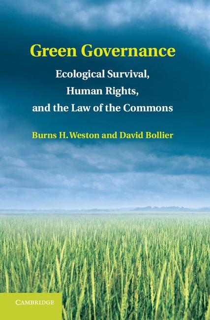Abbildung von Weston / Bollier   Green Governance   2013