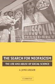 Abbildung von Gregor | The Search for Neofascism | 2006