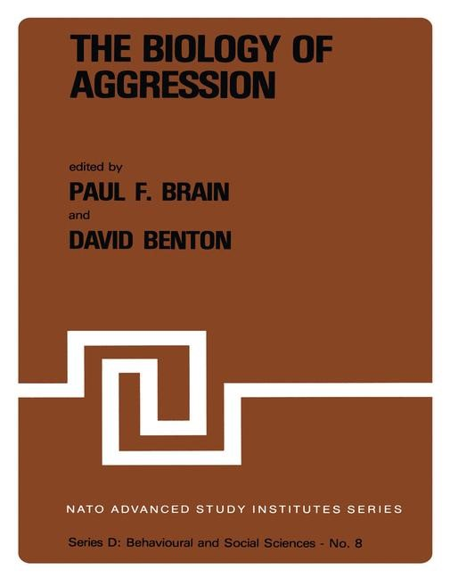 The Biology of Aggression | Brain / Benton, 1981 | Buch (Cover)