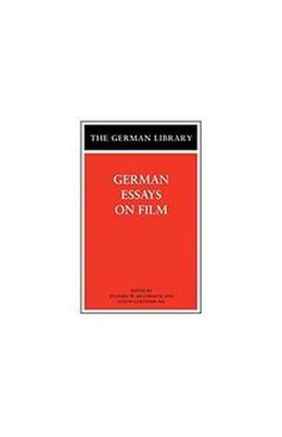Abbildung von McCormick | German Essays on Film | 2004