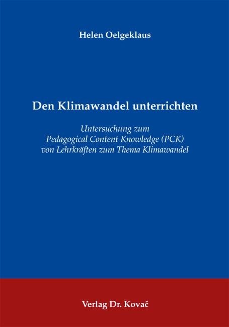 Den Klimawandel unterrichten | Oelgeklaus, 2012 | Buch (Cover)