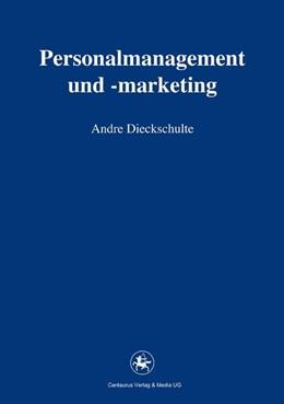 Abbildung von Dieckschulte   Personalmanagement und -marketing   2012   2015   88
