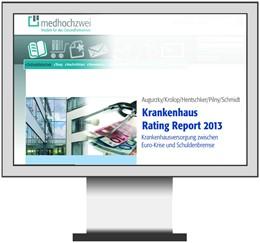 Abbildung von Krankenhaus Rating Report | 2012 | Krankenhausversorgung am Wende...
