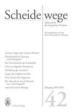 Abbildung von Sauer | Scheidewege | 2012 | Jahresschrift für skeptisches ...