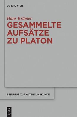 Abbildung von Krämer / Mirbach | Gesammelte Aufsätze zu Platon | 2014 | 321