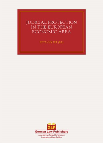 Judicial Protection in the European Economic Area | / Baudenbacher, 2012 | Buch (Cover)