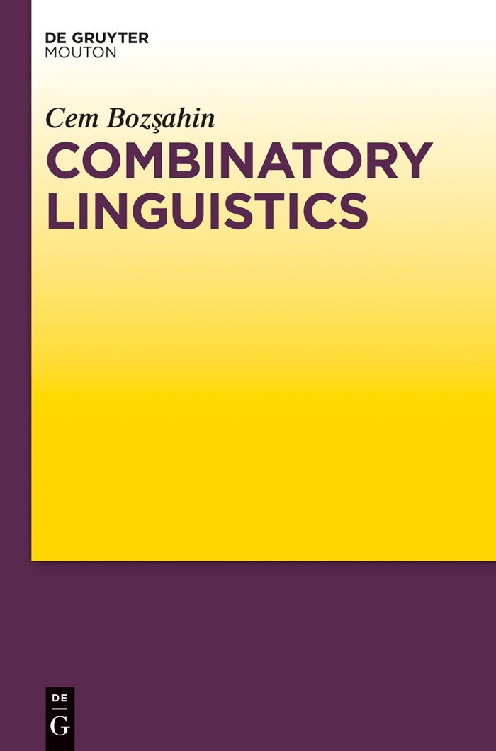 Combinatory Linguistics | Bozsahin, 2012 | Buch (Cover)